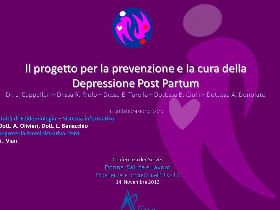 Il progetto per la prevenzione e la cura della Depressione Post Partum Dr.