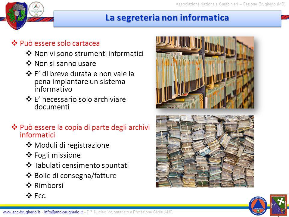 www.anc-brugherio.itwww.anc-brugherio.it - info@anc-brugherio.it – 71° Nucleo Volontariato e Protezione Civile ANCinfo@anc-brugherio.it Associazione Nazionale Carabinieri – Sezione Brugherio (MB) … Domande …