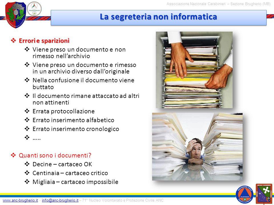 www.anc-brugherio.it - info@anc-brugherio.it – 71° Nucleo Volontariato e Protezione Civile ANCinfo@anc-brugherio.it Associazione Nazionale Carabinieri – Sezione Brugherio (MB) Grazie per L'attenzione Grazie per L'attenzione