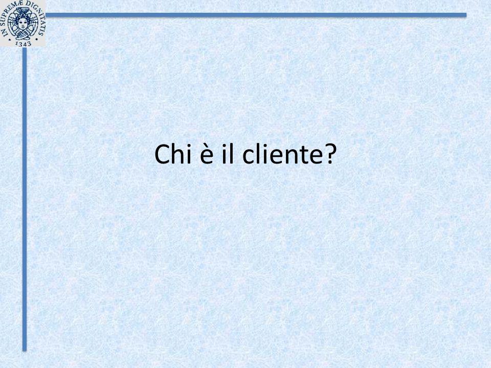 Chi è il cliente?