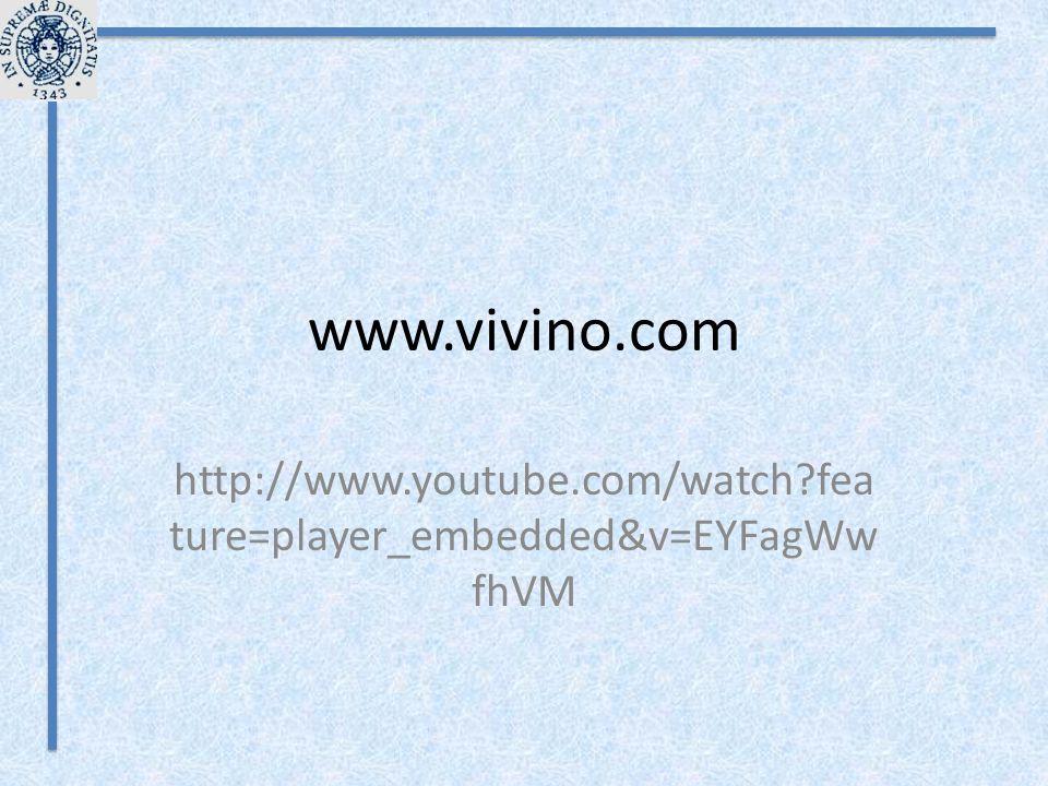 www.vivino.com http://www.youtube.com/watch?fea ture=player_embedded&v=EYFagWw fhVM