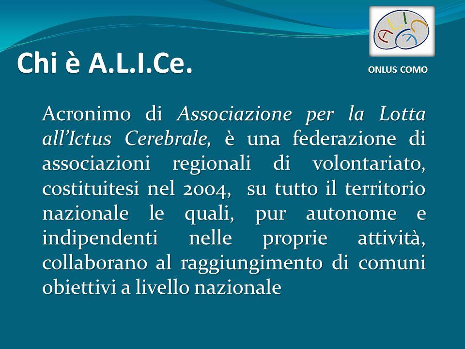Chi è A.L.I.Ce.COMO ONLUS COMO  A.L.I.Ce.