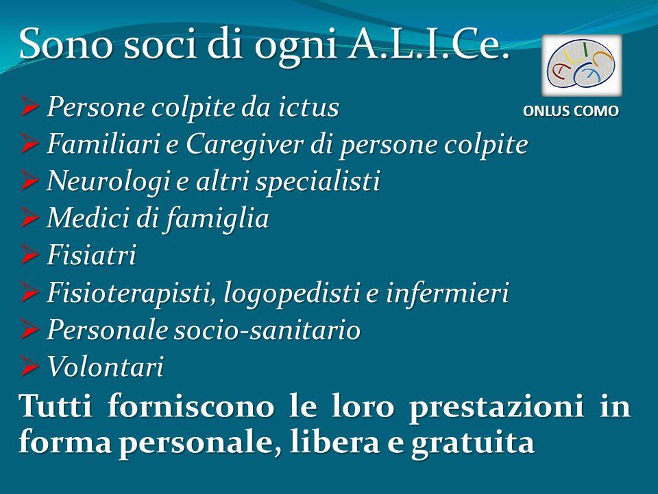 A.L.I.Ce.in Europa e nel mondo ONLUS COMO A.L.I.Ce.