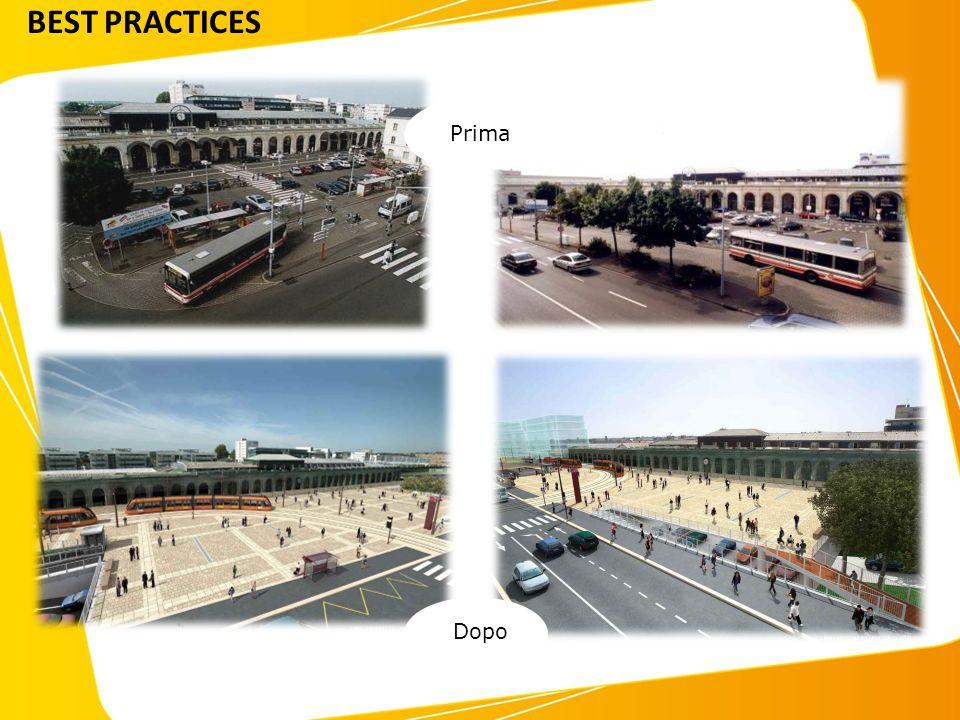 Interventi sull'arredo urbano PrimaDopo BEST PRACTICES