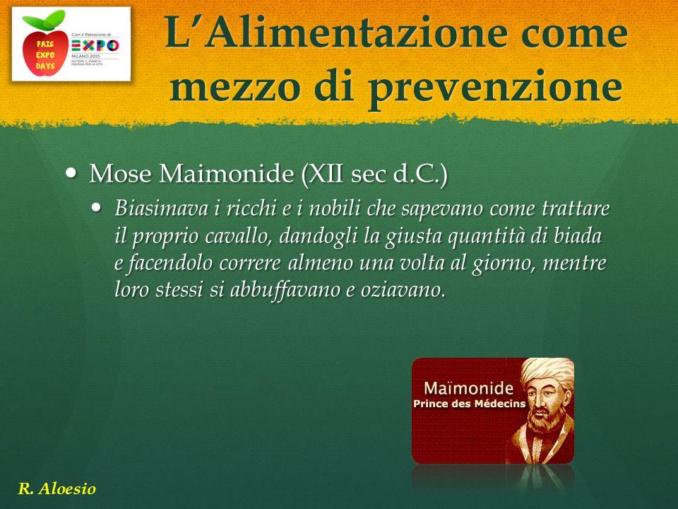 Mose Maimonide (XII sec d.C.) Mose Maimonide (XII sec d.C.) Biasimava i ricchi e i nobili che sapevano come trattare il proprio cavallo, dandogli la g