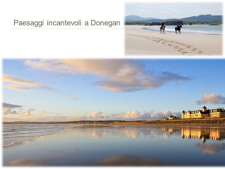 Paesaggi incantevoli a Donegan