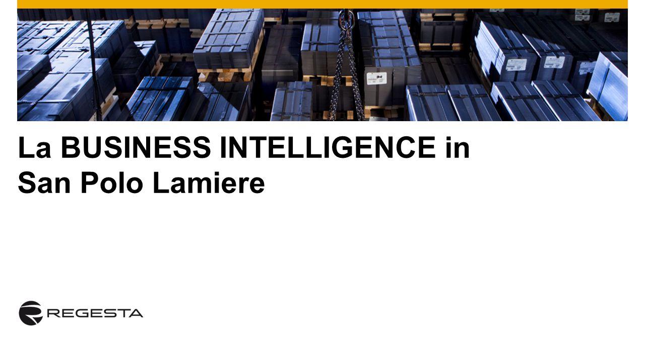 La BUSINESS INTELLIGENCE in San Polo Lamiere