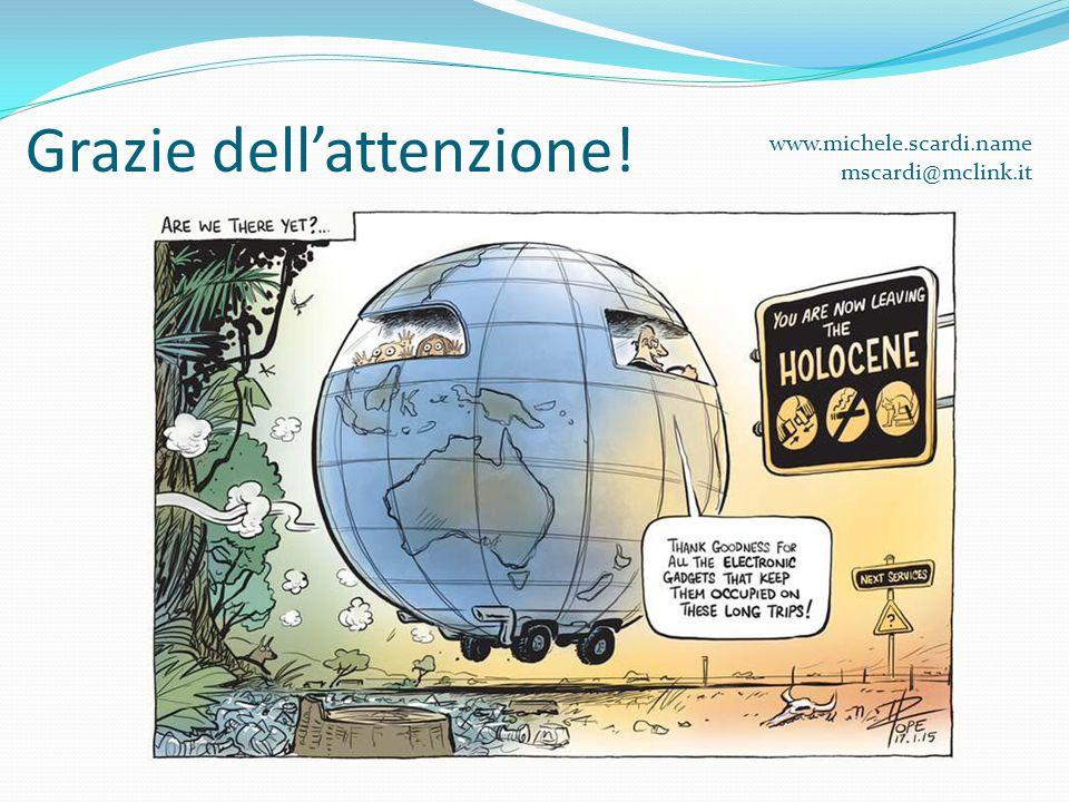 Grazie dell'attenzione! www.michele.scardi.name mscardi@mclink.it