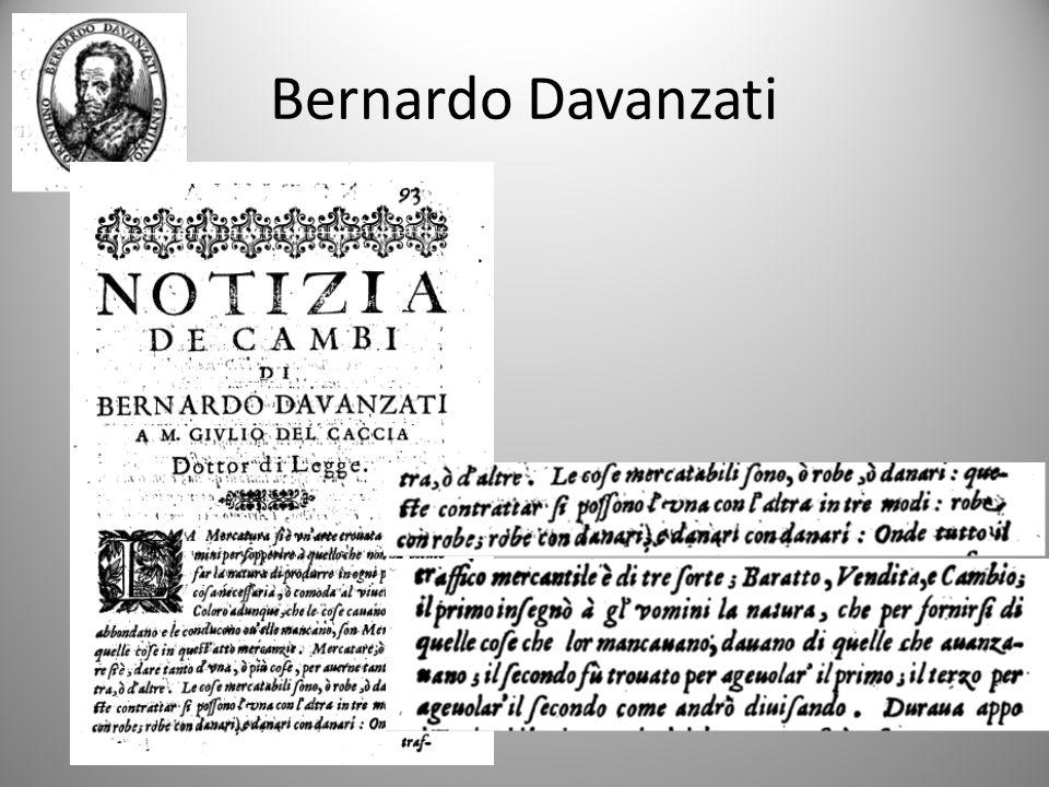 Bernardo Davanzati