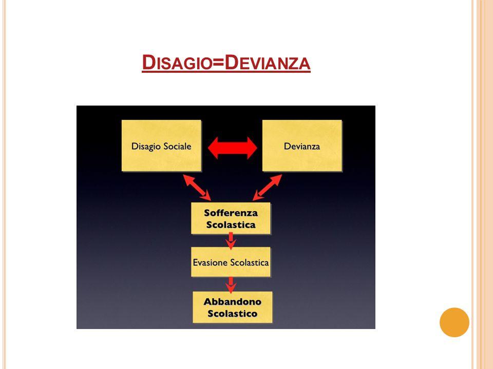 D ISAGIO =D EVIANZA