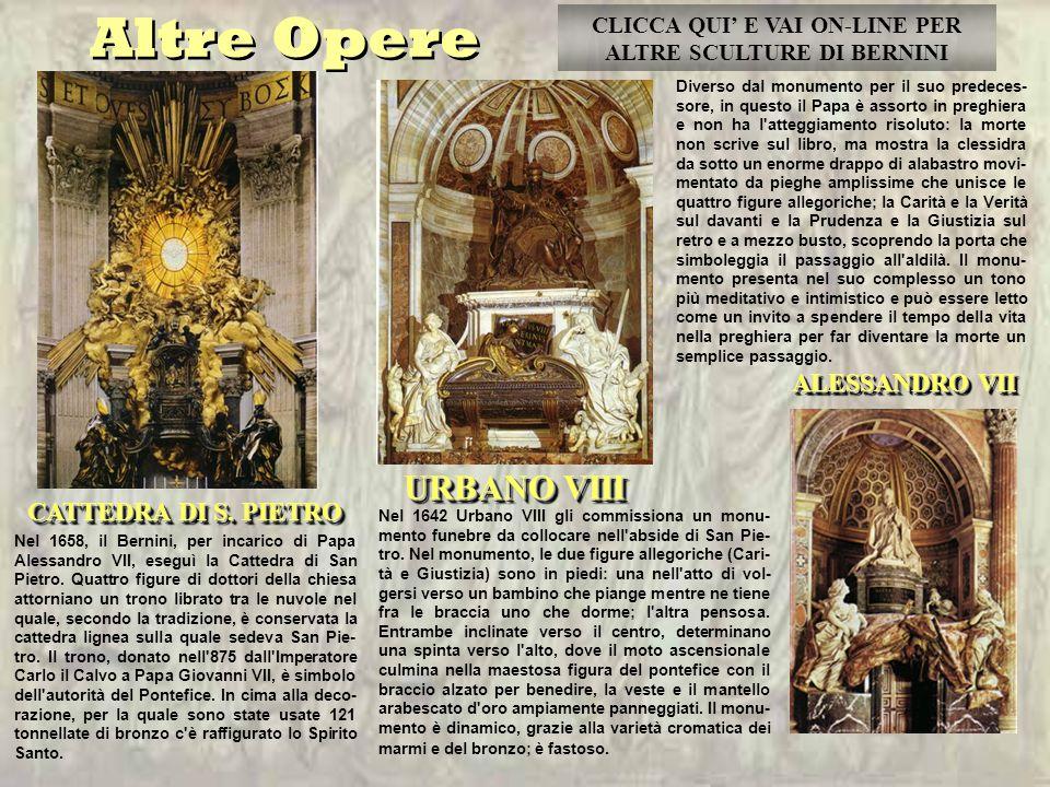 ALESSANDRO VII CATTEDRA DI S.PIETRO CATTEDRA DI S.