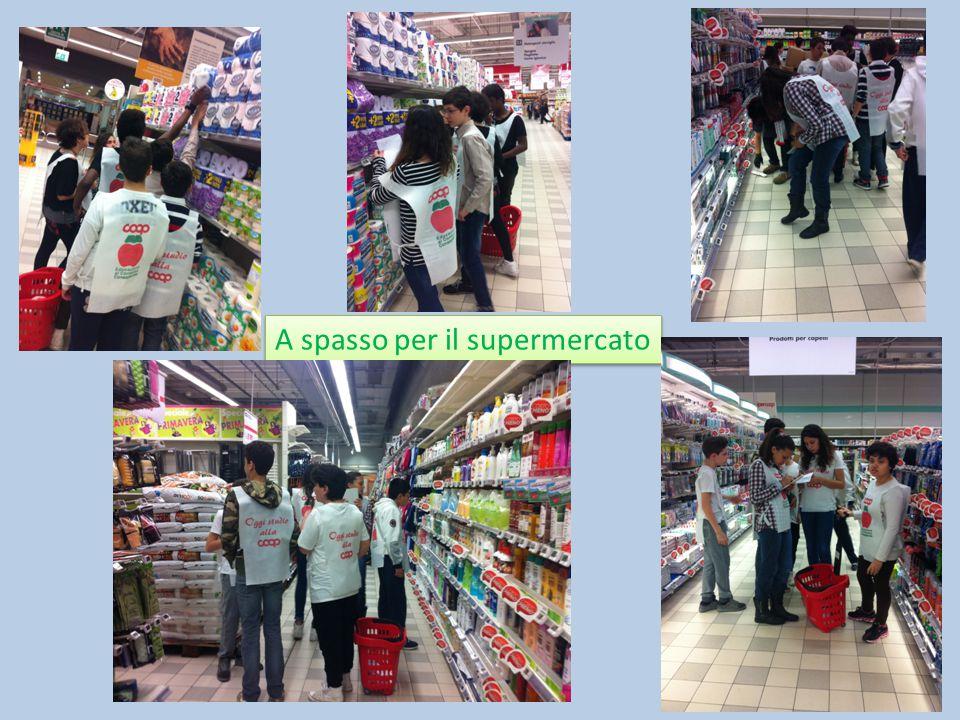 A spasso per il supermercato