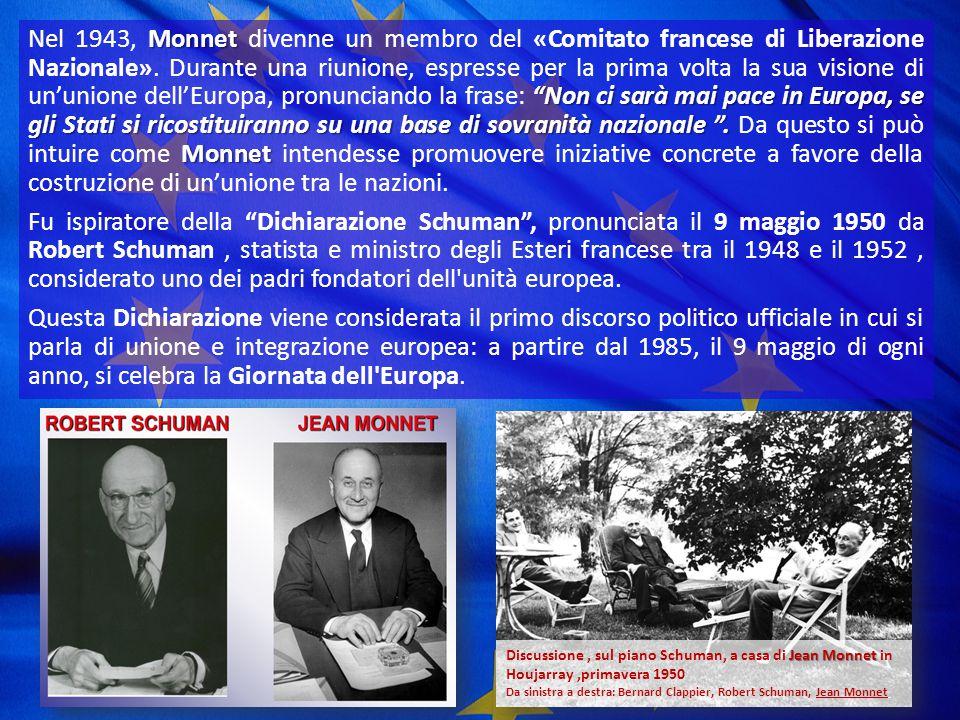 Jean Omer Marie Gabriel MONNET fu un politico francese di fama internazionale.