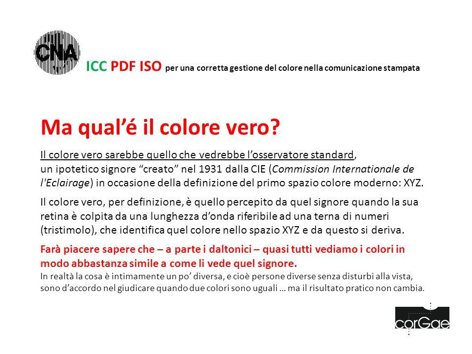 ICC PDF ISO Anteprima output È il modulo più importante per la prima verifica di un Pdf eseguita in modo interattivo.