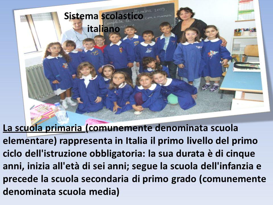 La scuola dell infanzia rappresenta il primo grado del sistema scolastico ed è a tutti gli effetti la prima forma di scolarizzazione.