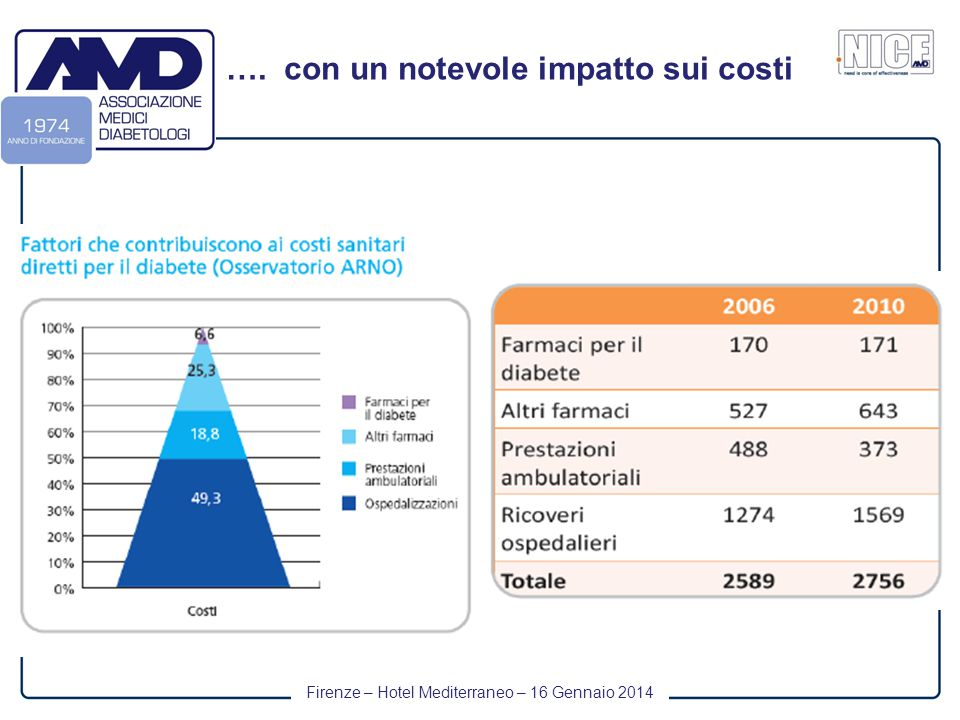 Firenze – Hotel Mediterraneo – 16 Gennaio 2014 …. con un notevole impatto sui costi