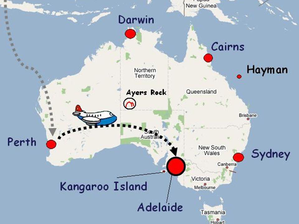 9 settembre 2006 – Arrivo ad Adelaide