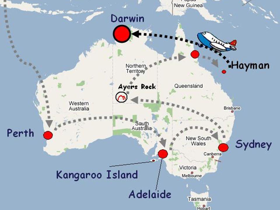 27 settembre 2006 - Trasferimento a Darwin