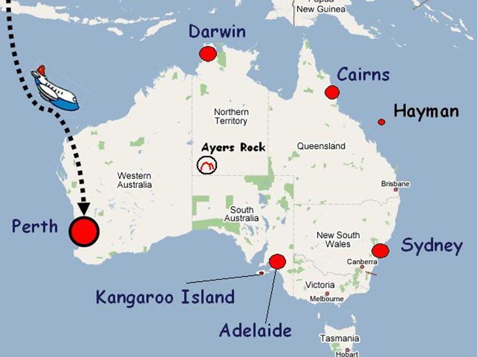 6 settembre 2006 - Arrivo a Perth