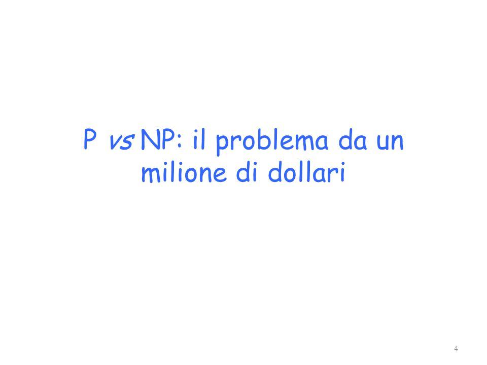 P vs NP: il problema da un milione di dollari 4