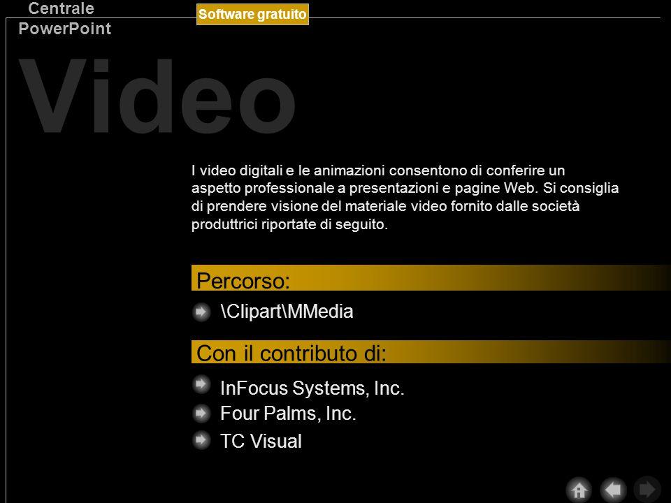 Software gratuito Centrale PowerPoint La TC Visual è un affermata società britannica di grafica, specializzata in tutti i settori della progettazione, dalla creazione di documentazione aziendale ai programmi multimediali.