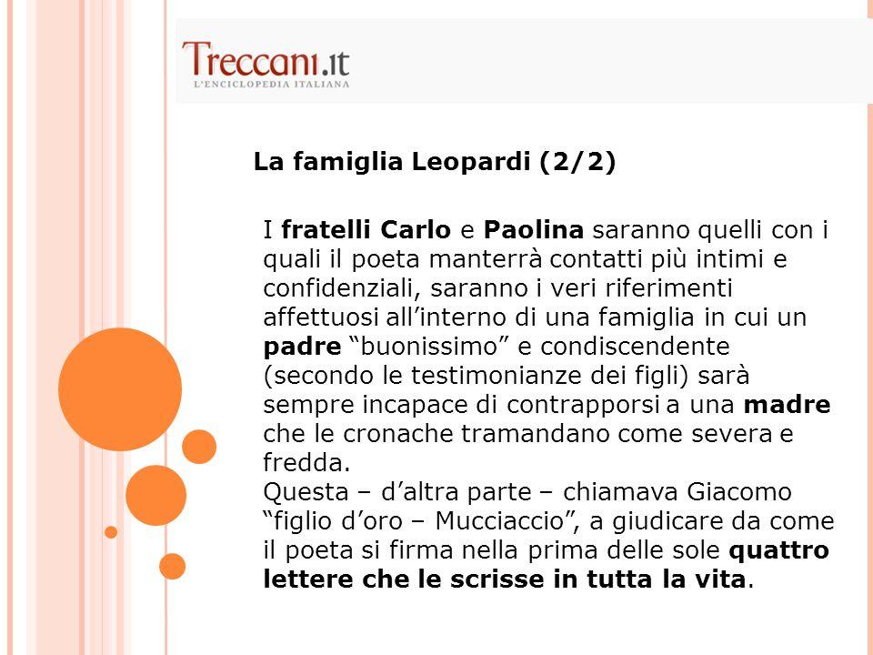Nel '19 Leopardi comincia prima a sognare e poi a progettare la fuga da Recanati verso Roma.