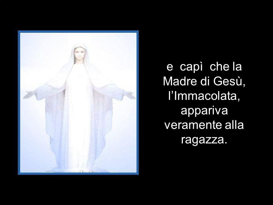 Don Domenico rimase molto colpito; infatti egli ben sapeva che Bernardette non conosceva il significato di quelle parole