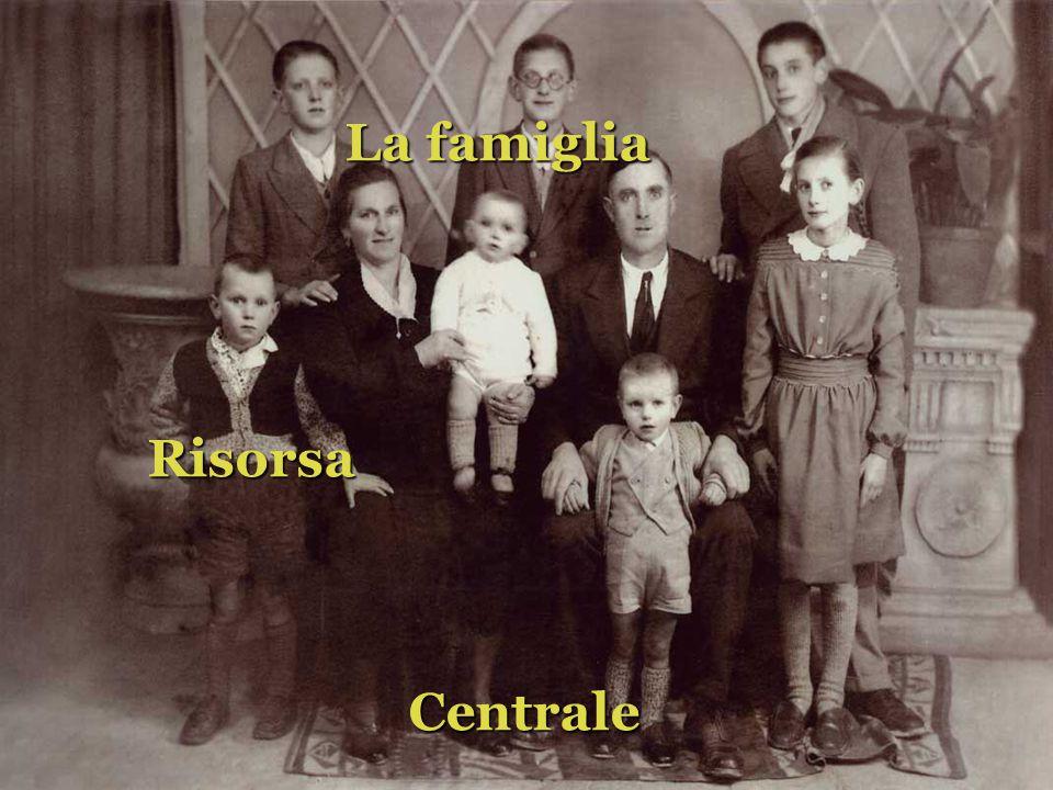 La famiglia Risorsa Centrale Centrale