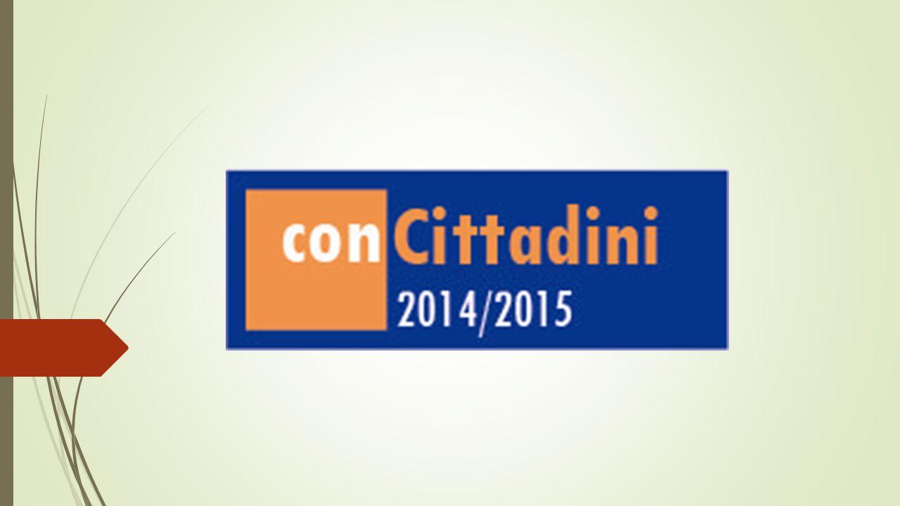 I vincitori dell'edizione 2014-2015 A conCittadini 2014-2015 si sono iscritti 72 progetti, con il coinvolgimento di oltre 16.000 giovani e oltre 2.000 adulti Sulla base delle Linee Guida, 48 soggetti sono stati valutati meritevoli di riconoscimento economico del lavoro svolto.