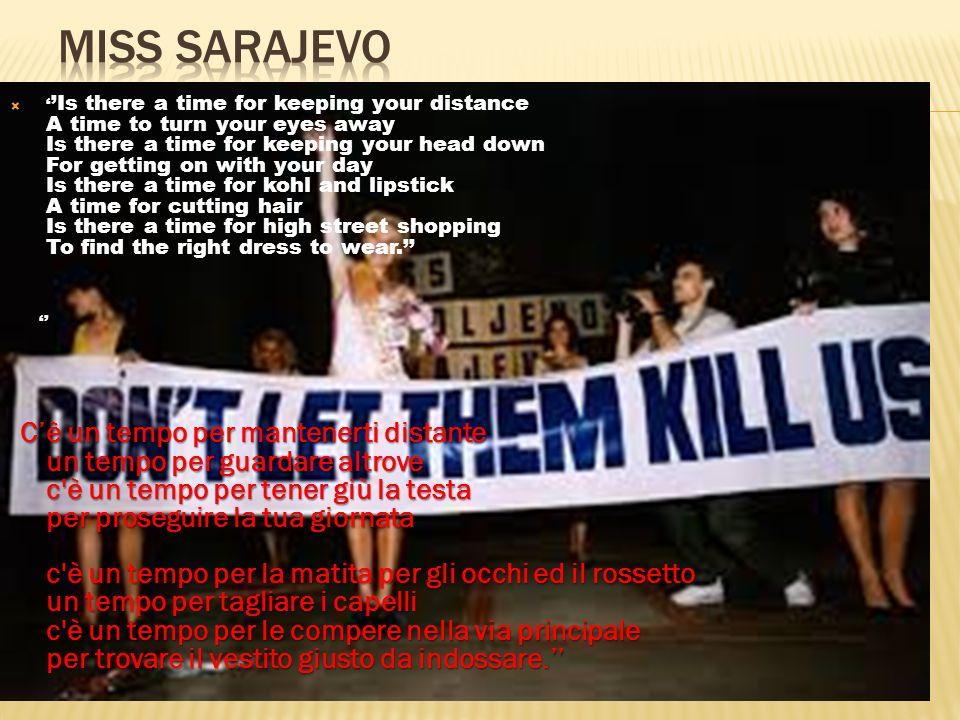  Assedio Sarajevo (6 aprile 1992)  Pulizia etnica  Accordi di Dayton