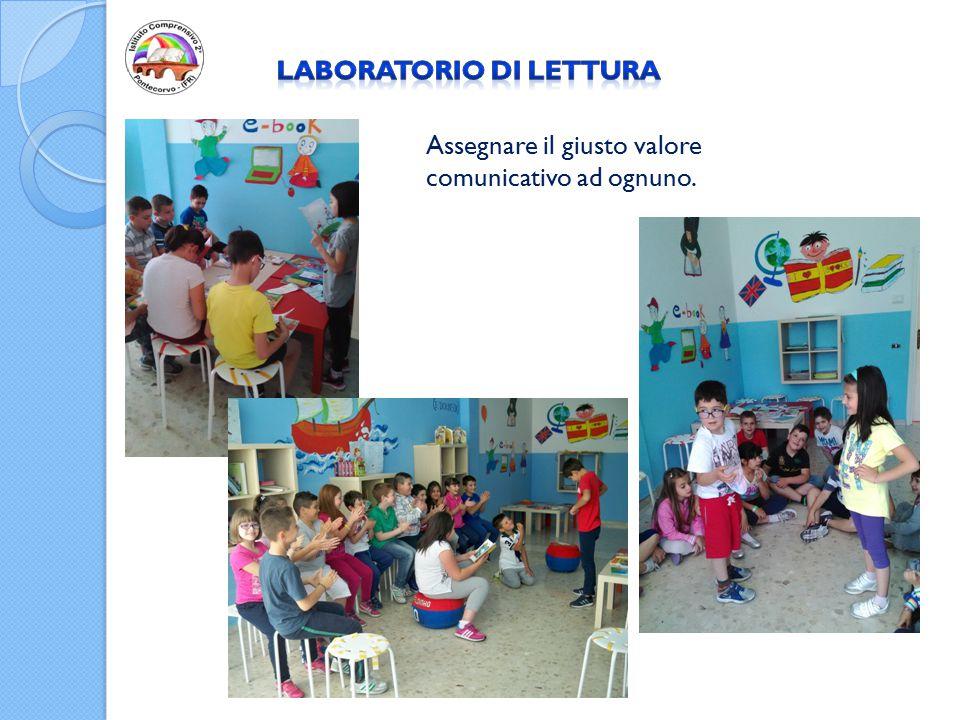 Gli alunni del Plesso si recano nel Laboratorio con cadenza settimanale per sviluppare un aspetto fondamentale della vita umana: LA COMUNICAZIONE.