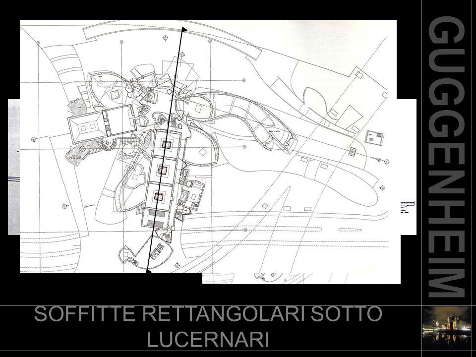 SOFFITTE RETTANGOLARI SOTTO LUCERNARI