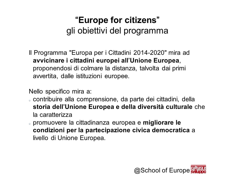 @School of Europe Ottenere l'Application Form - step 8