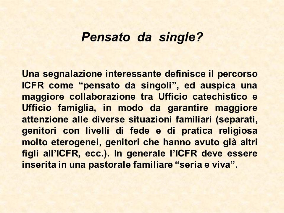 """Pensato da single? Una segnalazione interessante definisce il percorso ICFR come """"pensato da singoli"""", ed auspica una maggiore collaborazione tra Uffi"""