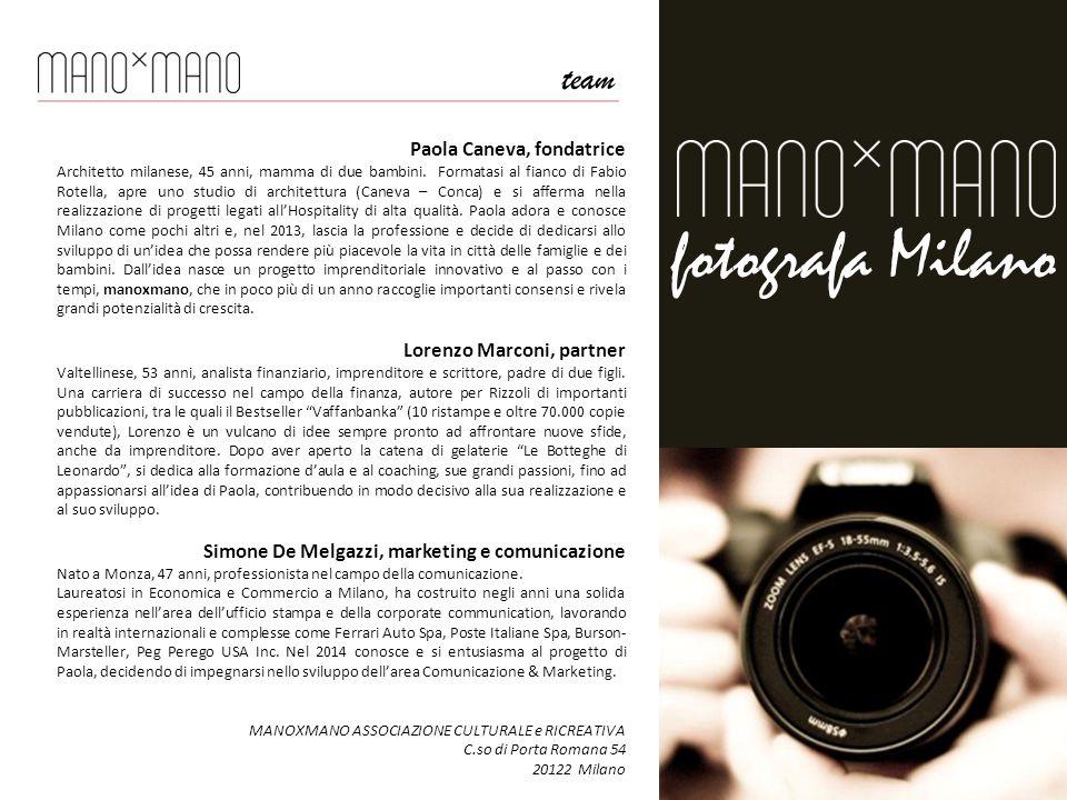 Paola Caneva, fondatrice Architetto milanese, 45 anni, mamma di due bambini.