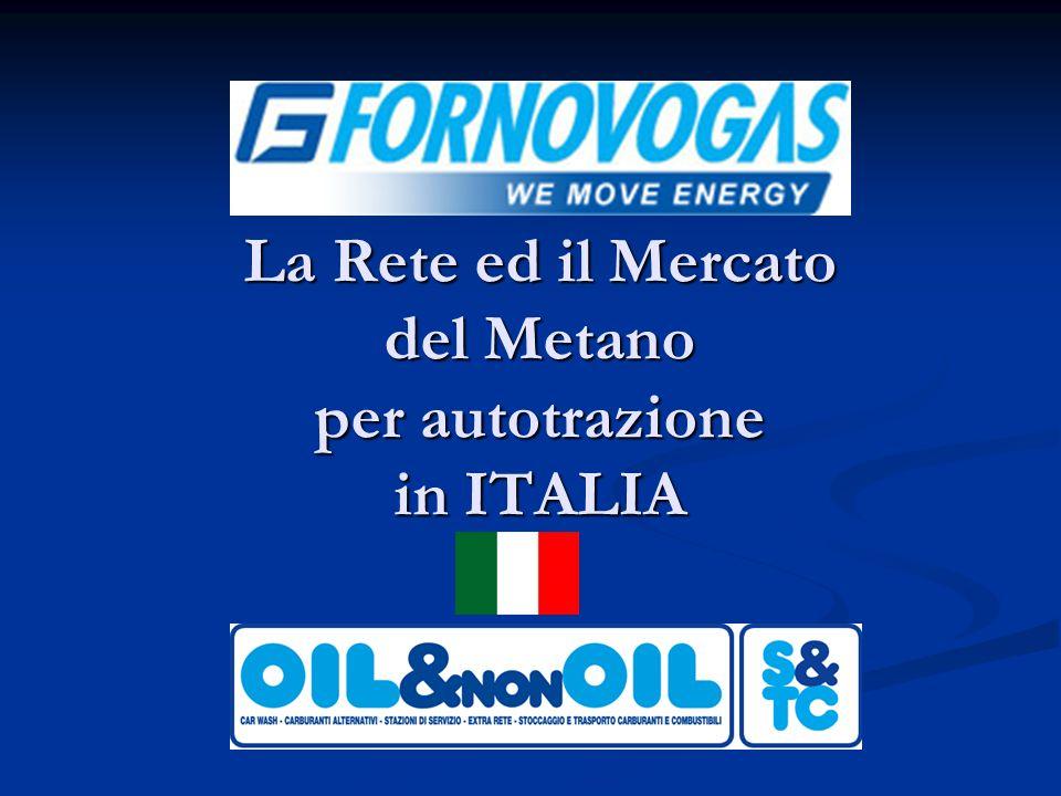 La Rete ed il Mercato del Metano per autotrazione in ITALIA