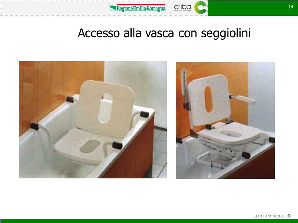 Accesso alla vasca con seggiolini 14 Leris Fantini 2013 ©