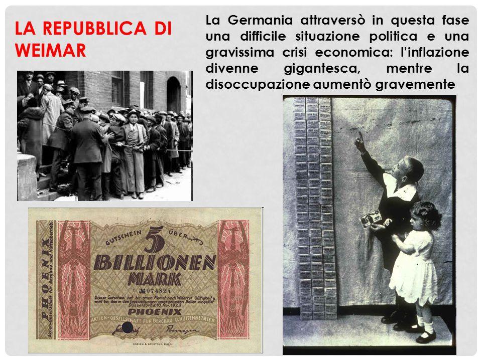 IL NAZISMO E LA SALITA AL POTERE DI HITLER Nel 1920 venne fondato, a Monaco di Baviera, il Partito nazionalsocialista dei lavoratori (partito nazista), di cui divenne il capo Adolf Hitler, un austriaco che, allora, aveva 31 anni, e aveva combattuto nella Prima guerra mondiale, raggiungendo il modesto grado di caporale Il partito di Hitler era fortemente influenzato dal fascismo italiano, e come esso era un partito di estrema destra, che si riproponeva di combattere le forze politiche socialiste anche ricorrendo alla violenza Discorso di Hitler