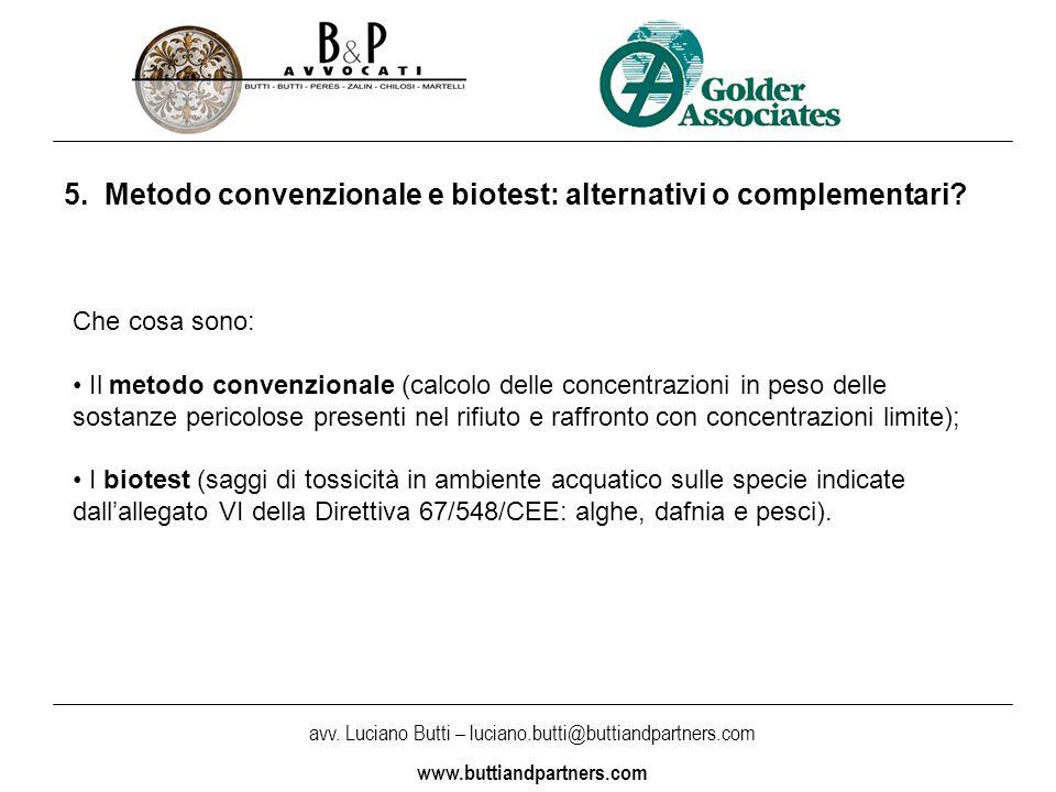 avv. Luciano Butti – luciano.butti@buttiandpartners.com www.buttiandpartners.com 5.