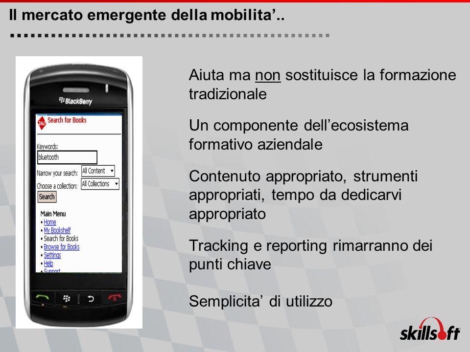 Il mercato emergente della mobilita'..