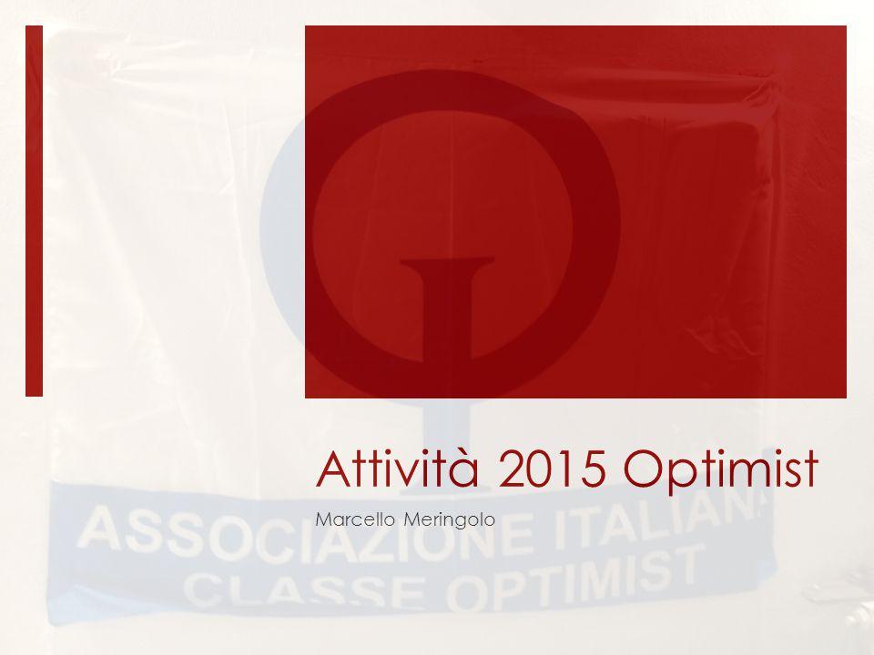 Attività 2015 Optimist Marcello Meringolo
