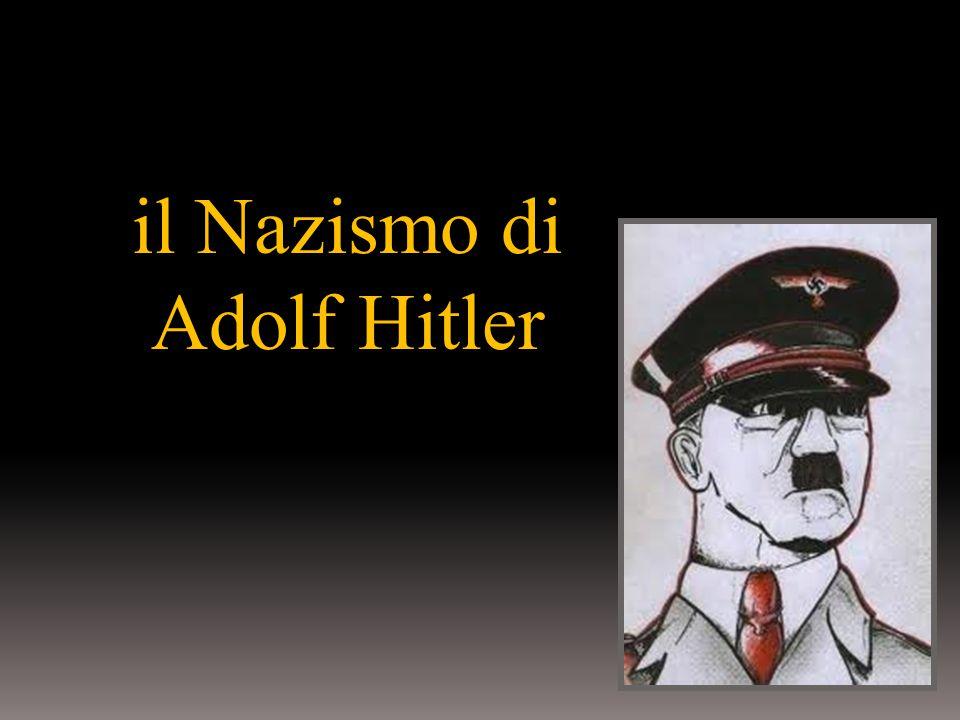 il Nazismo di Adolf Hitler