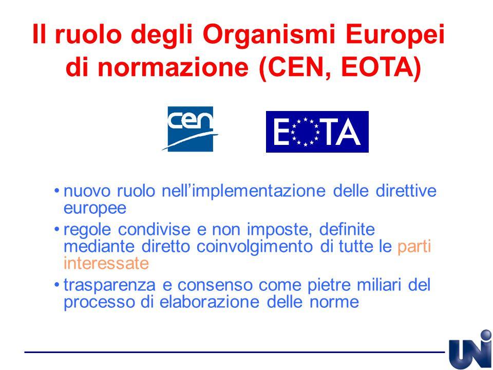 nuovo ruolo nell'implementazione delle direttive europee regole condivise e non imposte, definite mediante diretto coinvolgimento di tutte le parti in