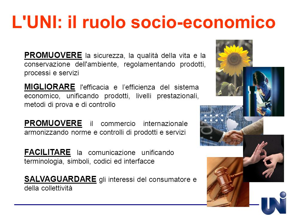 SALVAGUARDARE gli interessi del consumatore e della collettività PROMUOVERE la sicurezza, la qualità della vita e la conservazione dell'ambiente, rego