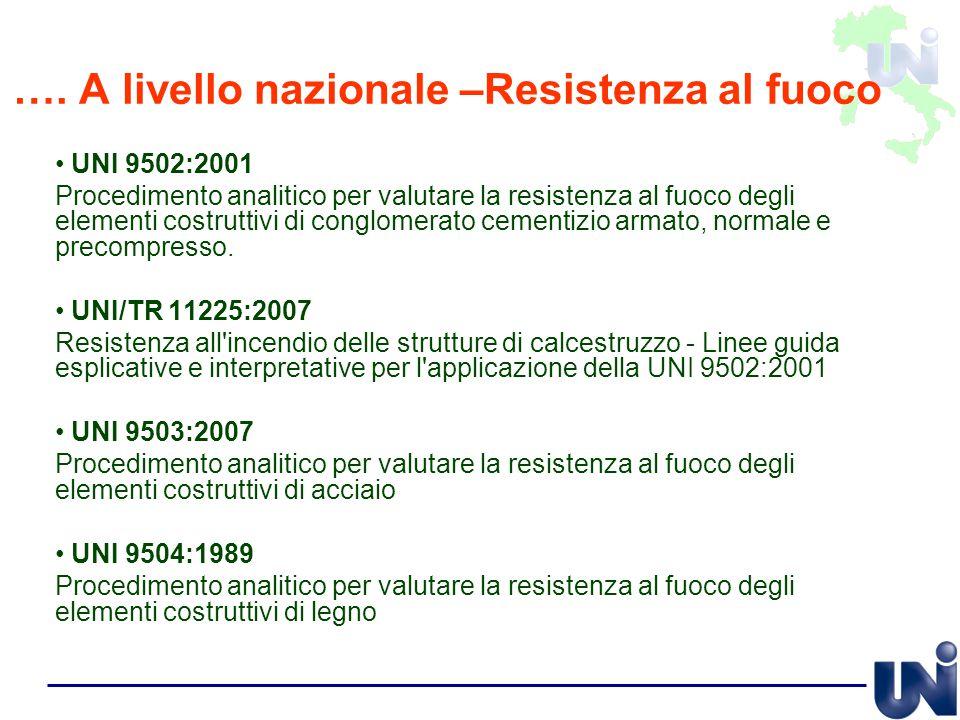 UNI 9502:2001 Procedimento analitico per valutare la resistenza al fuoco degli elementi costruttivi di conglomerato cementizio armato, normale e preco