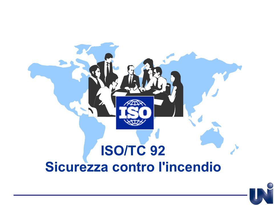 ISO/TC 92 Sicurezza contro l'incendio