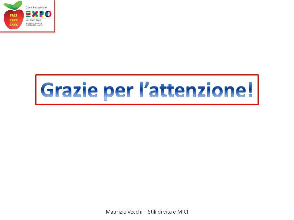 Maurizio Vecchi – Stili di vita e MICI