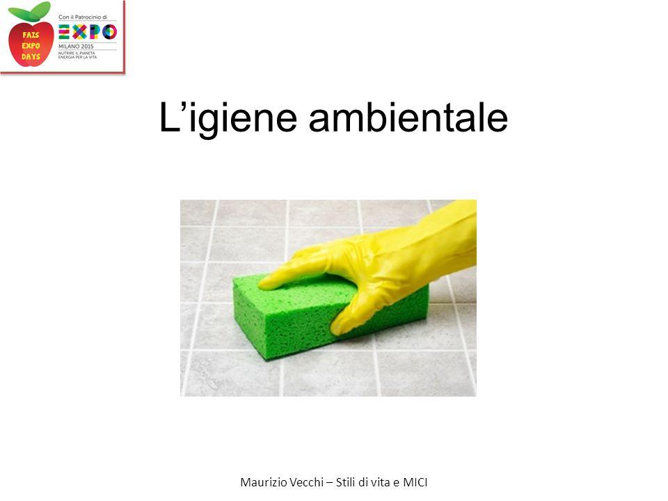 Maurizio Vecchi – Stili di vita e MICI L'igiene ambientale
