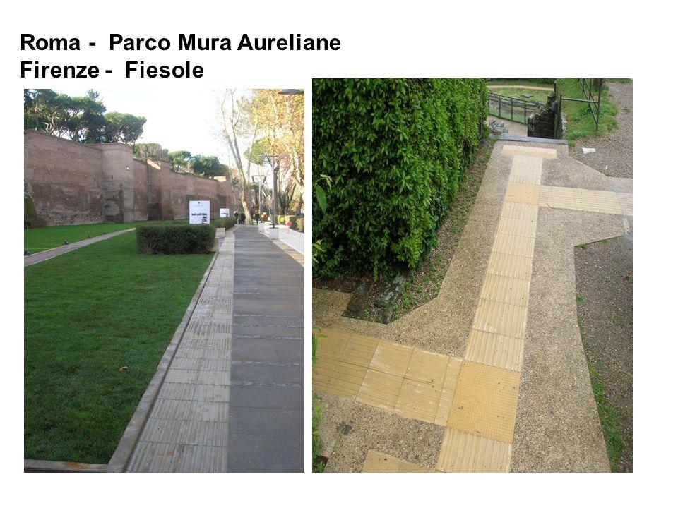 Roma - Parco Mura Aureliane Firenze - Fiesole