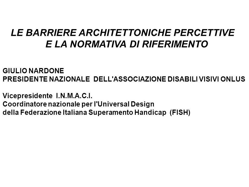 COMMISSIONE BARRIERE ARCHITETTONICHE.
